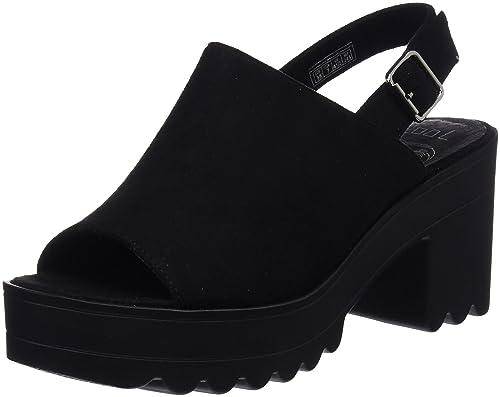 COOLWAY Alessa, Zapatos con Tacon y Correa de Tobillo para Mujer: Amazon.es: Zapatos y complementos