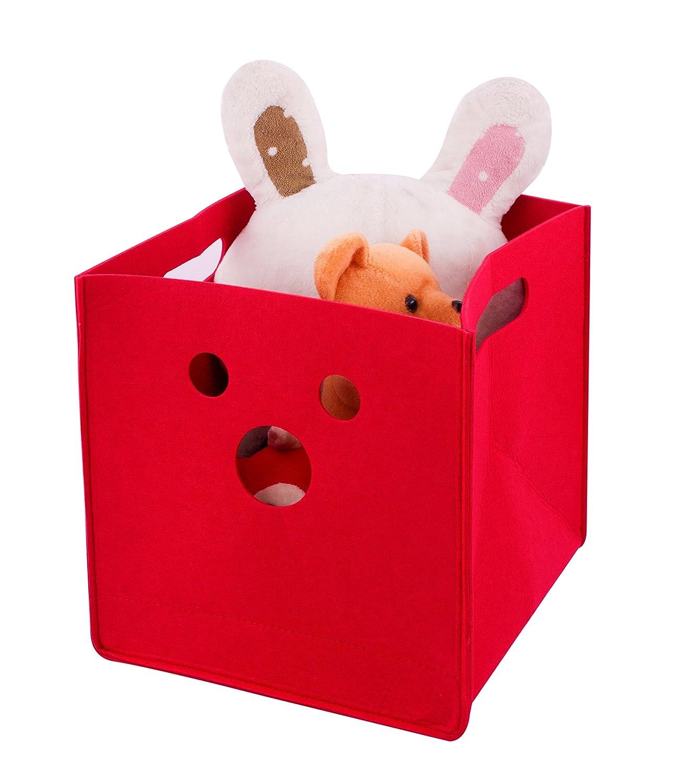 FISHSHOP Storage Basket, Felt Toy Chest Baskets Storage Bins Organizer - Perfect for Organizing Toy Storage, Baby Toys, Kids Toys, Dog Toys, Baby Clothing, Children Books, Gift Baskets