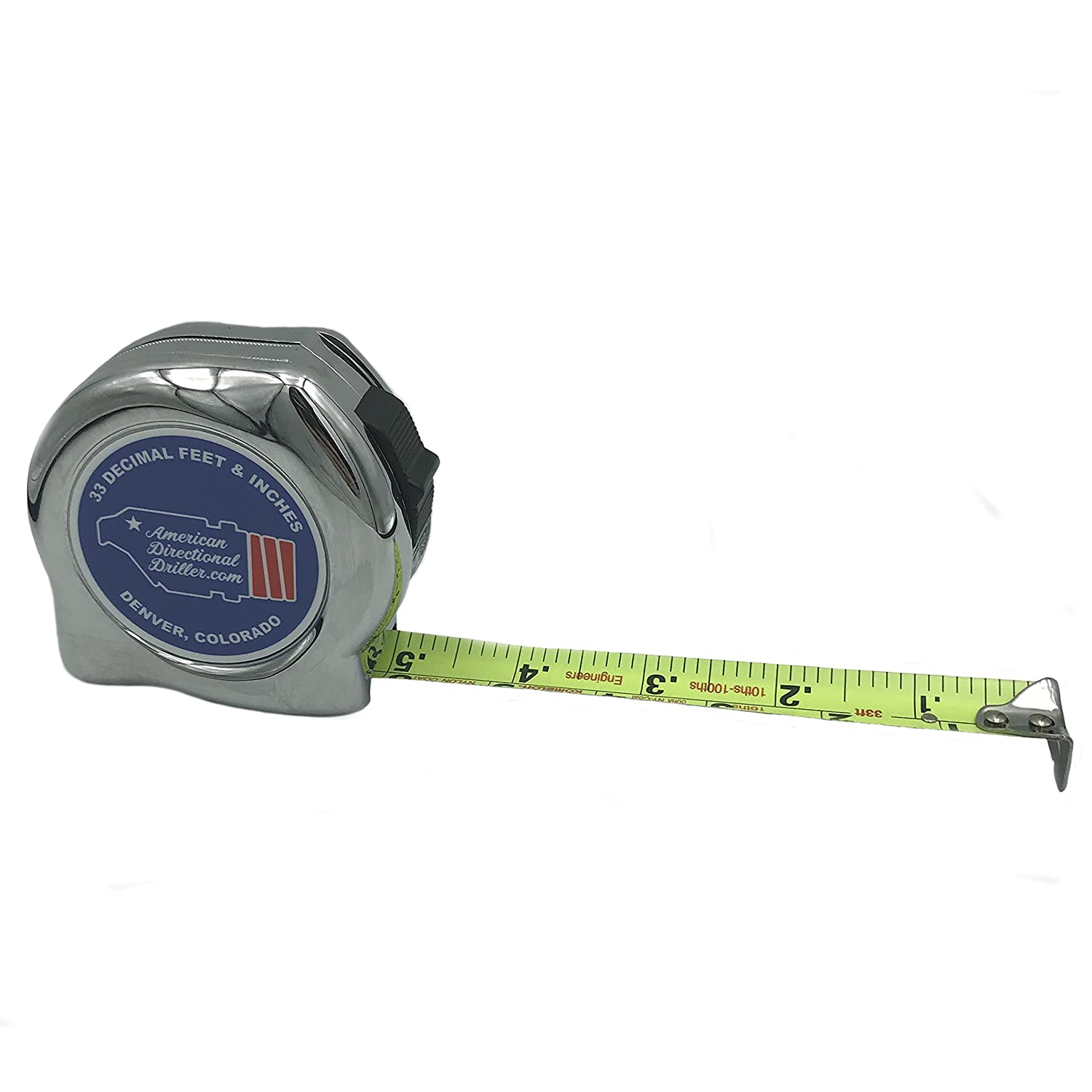 American Directional Driller BHA Tape Measure, 33 Decimal Feet and Inches (Engineer) (1) - - Amazon.com
