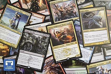 MAGIC THE GATHERING LOT OF 50 RANDOM DECK MASTER CARDS PLEASE READ DESCRIPTION