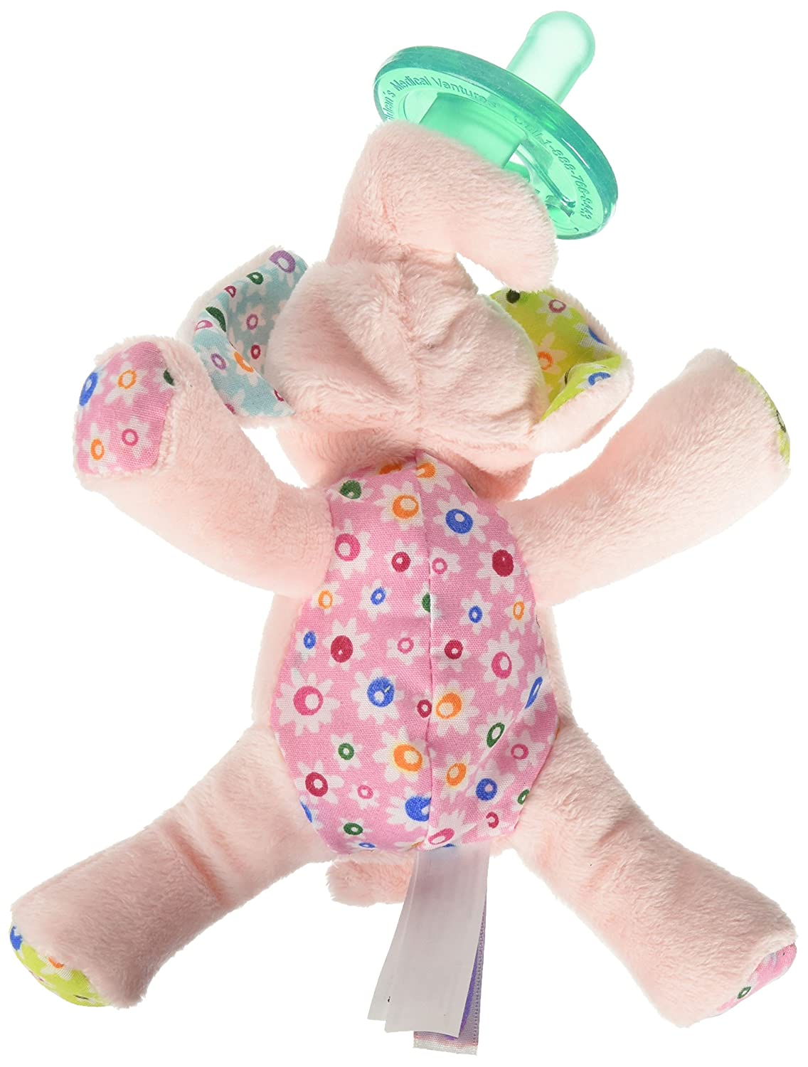 fc63580363 Amazon.com : Mary Meyer WubbaNub Soft Toy and Infant Pacifier, Ella Bella  Elephant : Baby Pacifiers : Baby