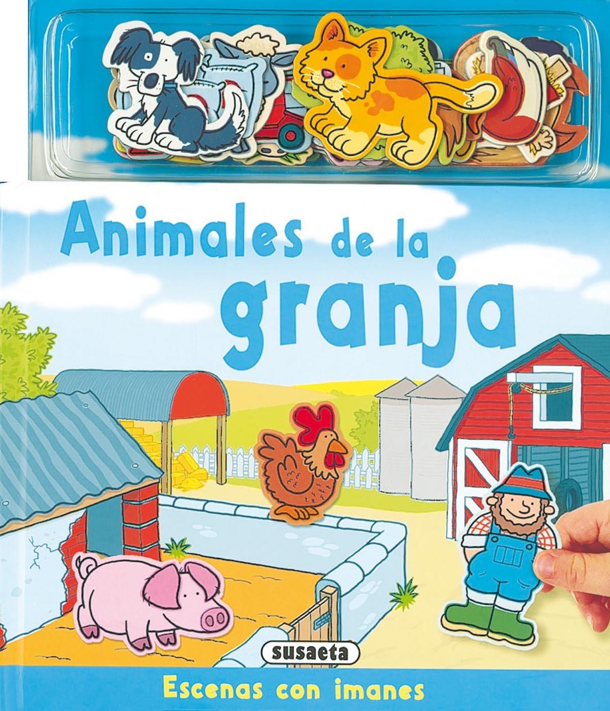 Animales De La Granja(Escenas Con Imanes): Amazon.es: Varios: Libros