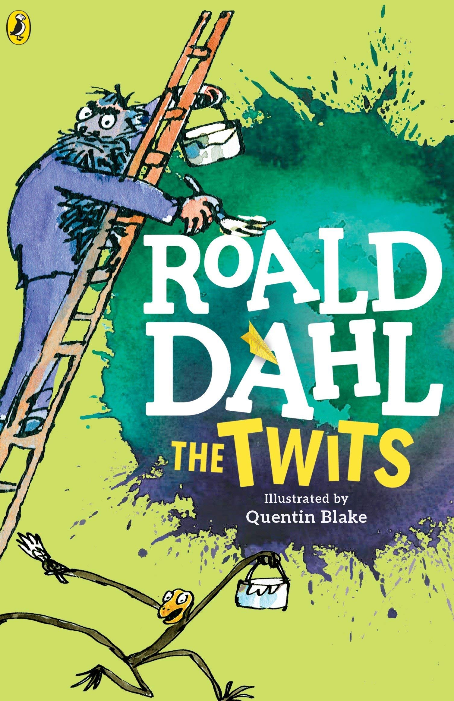 Image result for the twits roald dahl book cover