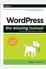 WordPress: The Missing Manual (Missing Manuals)