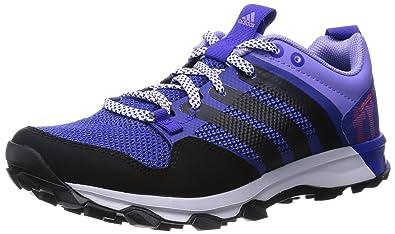 adidas Kanadia 7 Trail, Damen Laufschuhe, Violett (Night Flash S15/Core Black/Light Flash Purple S15), 42 EU (8 Damen UK)