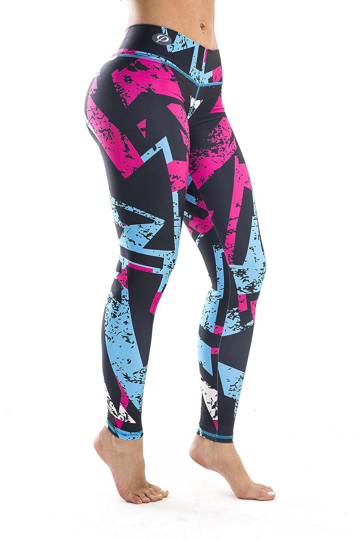 Inspirit Sport Workout Leggings Compression Tights Full Length Leggings ISPLEGL