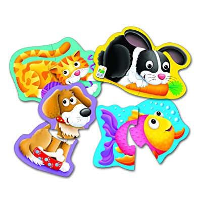 The Learning Journey My First Shaped Puzzle – Pet Friends – Fun Shaped Toddler Puzzles & Gifts for Boys & Girls Ages 2 and Up: Toys & Games