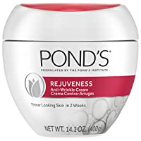 Pond's Anti-Wrinkle Face Cream Anti-Aging Face Moisturizer With Alpha Hydroxy Acid...