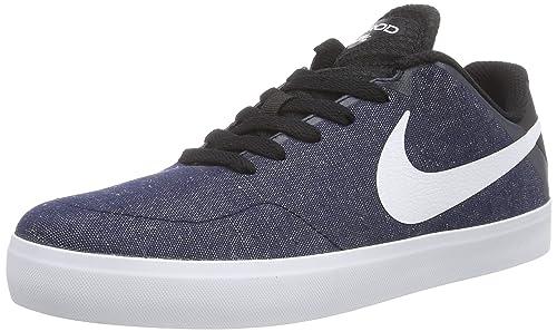 7bdb39463899 NIKE Paul Rodriguez CTD LR Canvas, Herren Sneakers, Blau (Obsidian White-