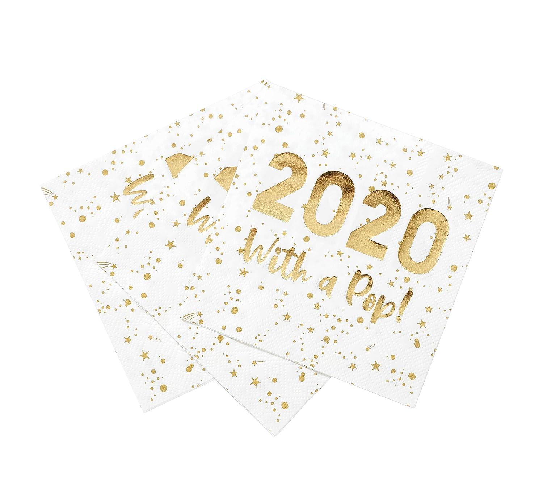LUXE-CNAPKIN-2020 Talking Tables Stoviglie per la tavola di decorazioni per la festa di Natale-Tovagliolo