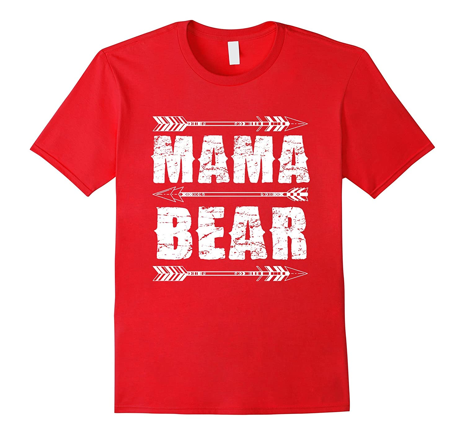 Mama Bear T-Shirt Love you mom-TH