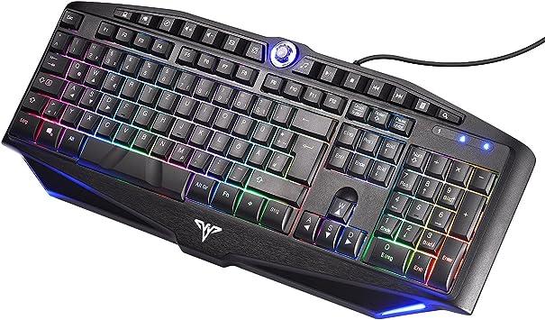 topelek Gaming de teclados verdrahte Pantalla Teclado ...