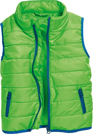check out cd4bb f64b8 Playshoes Baby Girls Unisex Kinder Weste Steppweste Gilet ...