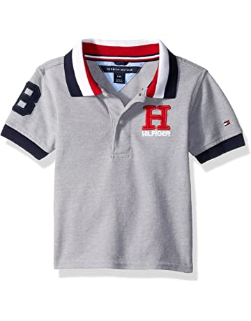 b9623a0ca Tommy Hilfiger Boys' Short Sleeve Ivy Polo