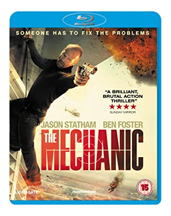 The Mechanic 2011 BluRay 720p 600MB Dual Audio ( Hindi – English ) ESubs MKV