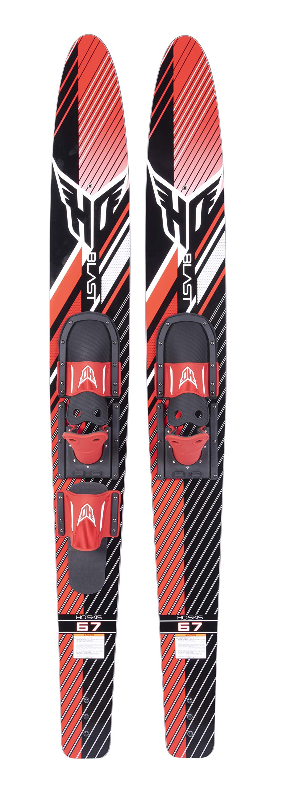 HO Sports 59 inch Blast Combo Small HS/RTS-Bar Water Skis