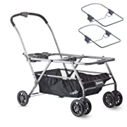 JOOVY TwinRooPlus Car Seat Stroller withChiccoAdapters