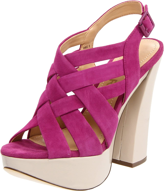 b425690697 Amazon.com | Report Women's Virginia, Hot Pink, 7.5 M US | Platforms &  Wedges