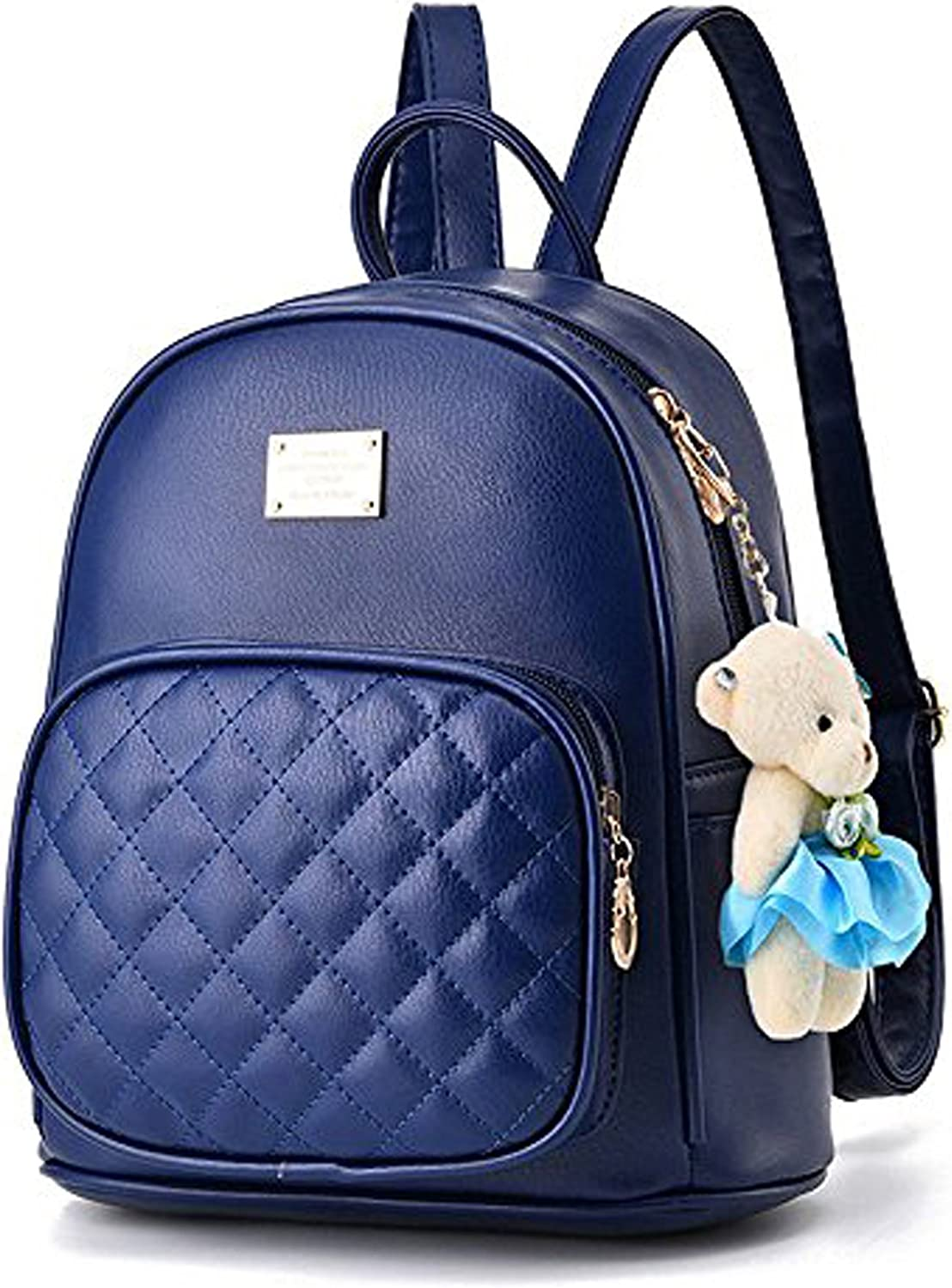 Women Cute Leather Laides Shopping Casual Backpack Travle Backpack for Girls