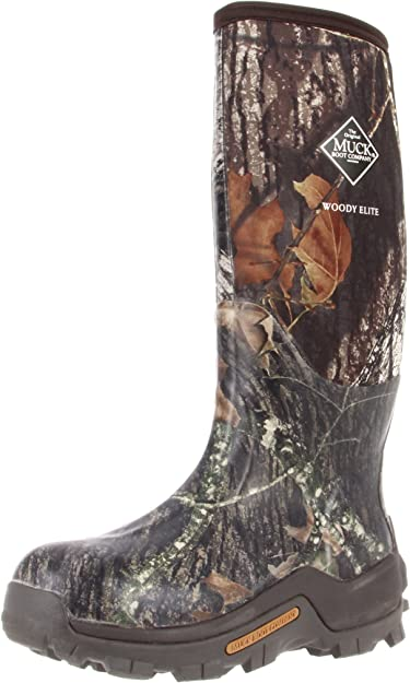 WDE-MOBU Muck Boots Woody Elite Premium Hunting Boot-Mossy Oak Break Up