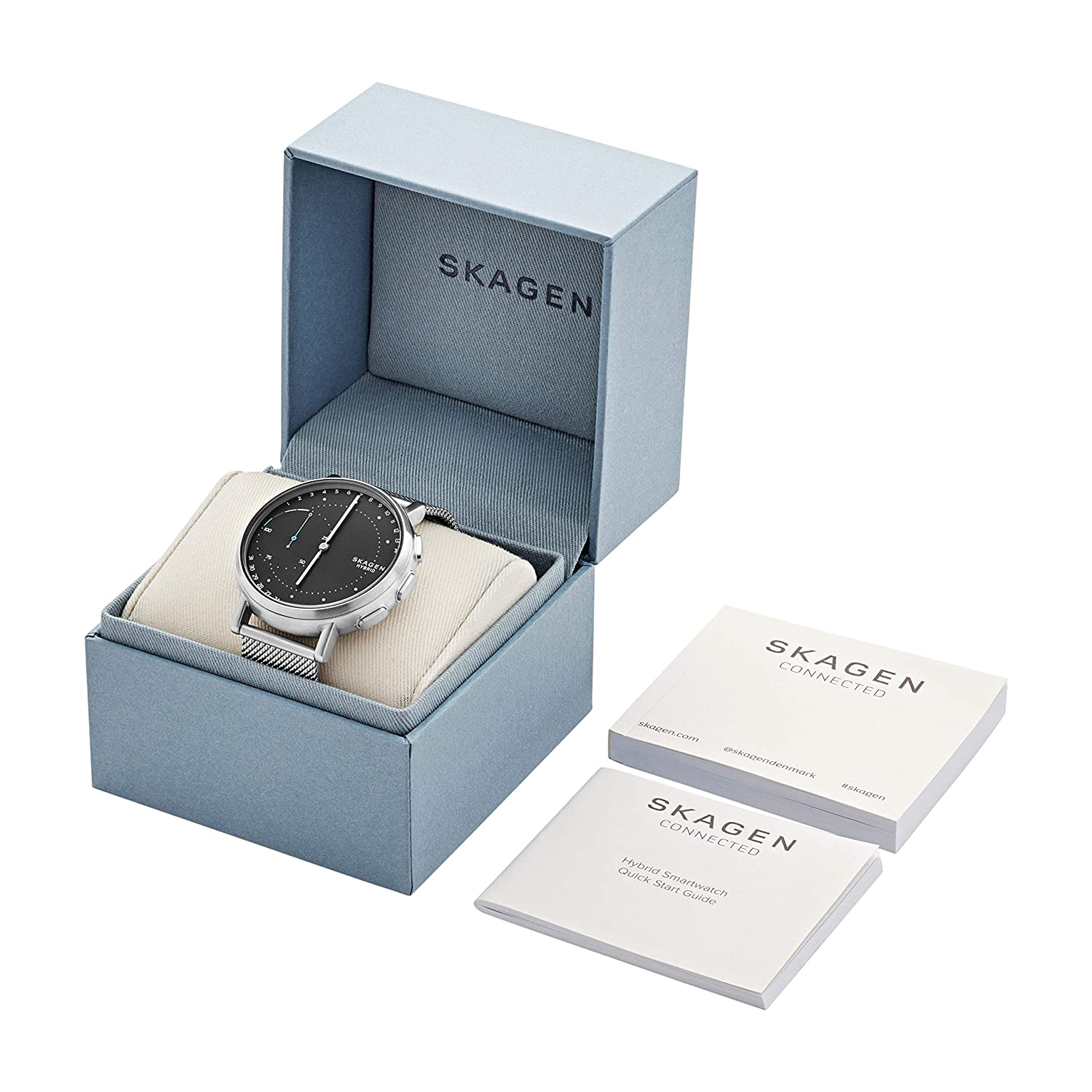 Skagen Connected Signature Hybrid Smartwatch SKT1113: Amazon ...