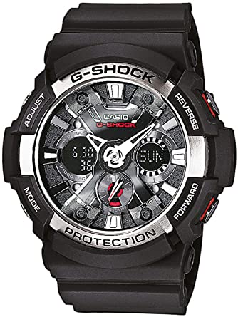 d38f9866e67 Casio G-Shock Men s Watch GA-200-1AER  Amazon.co.uk  Watches