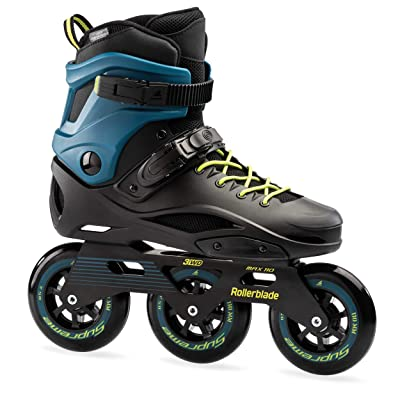 Rollerblade RB 110 3WD Unisex Adult Fitness Inline Skate, Black and Blue, High Performance Inline Skates : Sports & Outdoors
