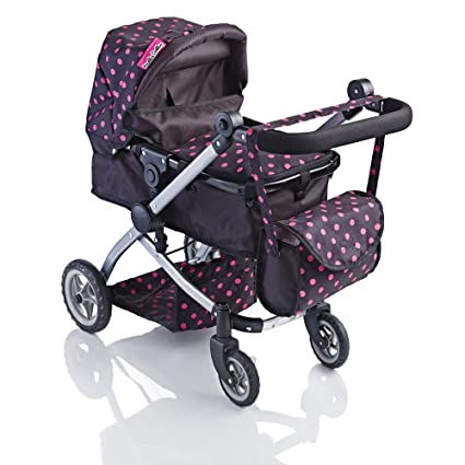 Amazon.com: Molly Dolly Babyboo Deluxe 2 en 1 Muñecas ...