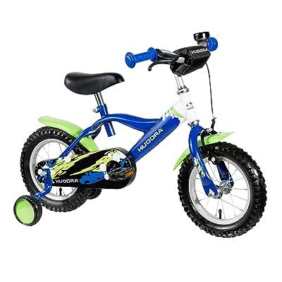 'Hudora–Vélo pour enfant, 12, vert/bleu