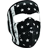 Zan Headgear Face Mask B&W Vintage Flag WNFM091
