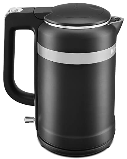 Swell Kitchenaid Kek1565Bm Electric Kettle 1 5 Liter Black Matte Download Free Architecture Designs Grimeyleaguecom
