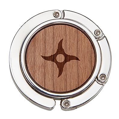Amazon.com: Estrella Ninja en espiral de madera bolso gancho ...