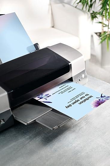 "sigel Design Papier DIN A4 90 g//qm Motiv /""Blue Emotion/"" 50 Blatt"