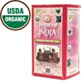 PRIDE OF INDIA Stress Relief Herbal Tea - 25 Tea Bags