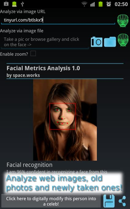 Amazon com: Facial Metrics Analysis Pro: Appstore for Android