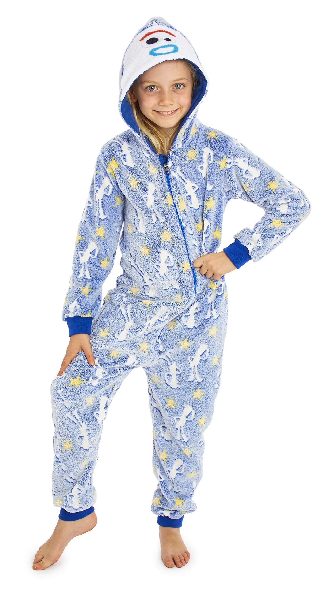 Disney Toy Story 4 Forky Onesie Glow in The Dark Onesie Hooded Gifts For Kids Super Soft Fleece Onesies For Boys Toy Story Pyjamas PJs Playsuit Costume 7//8 Years, Glow in the Dark Woody