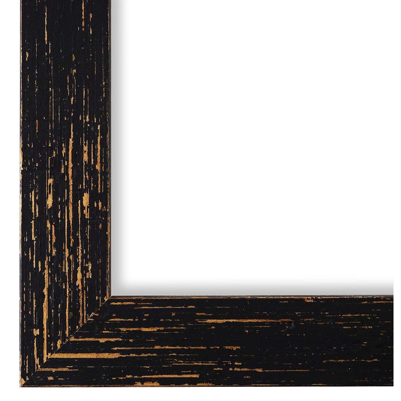 Online Galerie Bingold Bilderrahmen Schwarz 45x60-45 x 60 cm - Modern, Shabby, Vintage - Alle Größen - Handgefertigt in Deutschland - WRF - Cremona 3,0