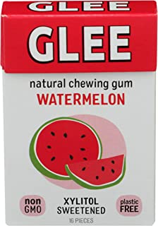 product image for Glee Gum Chewing Gum Wild Watermelon Sugar Free, 12 Count