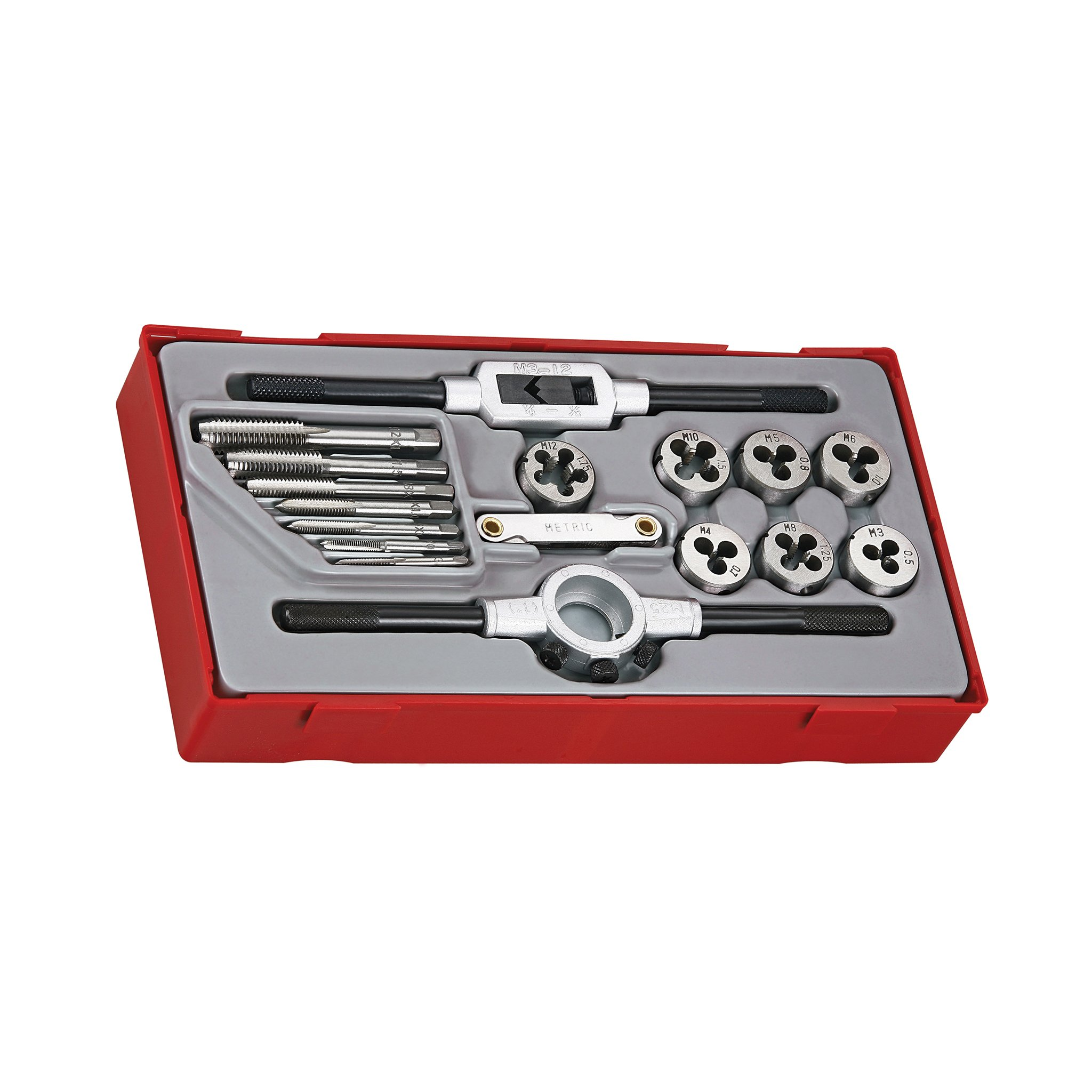 TTTTD17 TENG TOOLS Rethreading Tap & Die Set
