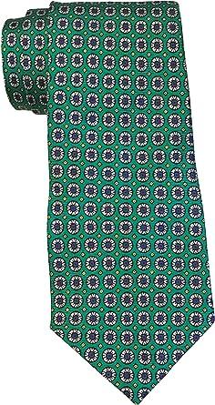 Polo Ralph Lauren - Corbata con estampado de medallón verde ...