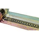 Washi, Deko Tape Sets–Große Auswahl an Designs und Farben 12 X 5mm Skinny
