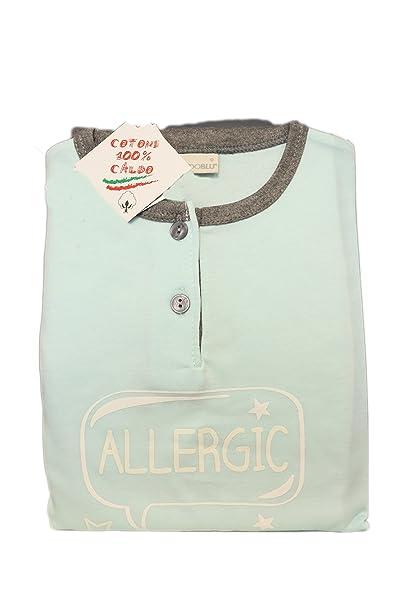 Mondo Blu - Pijama 08-815 para niña, 100% algodón interlock de algodón