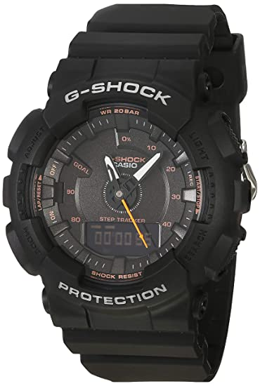 Casio G-Shock By Unisex S Series GMAS130VC-1A Watch Black ...