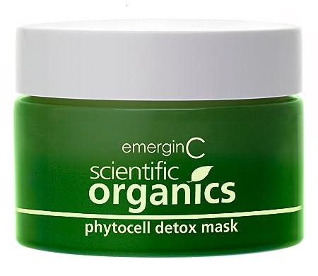 emerginC Scientific Organics – Phytocell Detox Mask, French Green Clay, 50ml 1.76oz