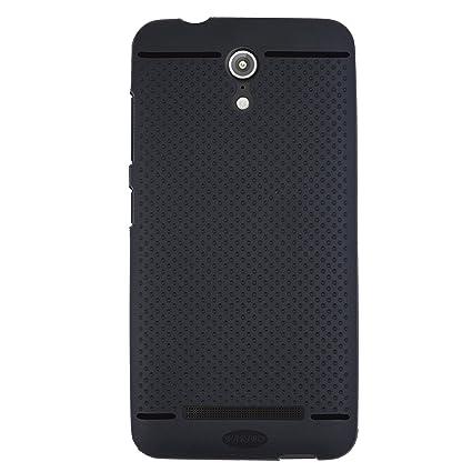reputable site fbb85 ecfcb VAKIBO Black Dotted Design Premium Soft Matte Silicon Back Cover Case for  ASUS Zenfone Go 5.0 T500 LTE