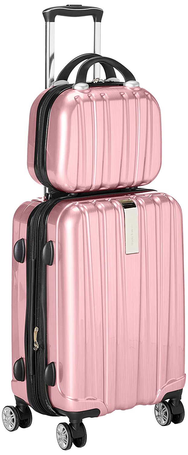 a0f295e02144 good World Traveler Monaco 2-Piece Expandable Carry-on Spinner ...
