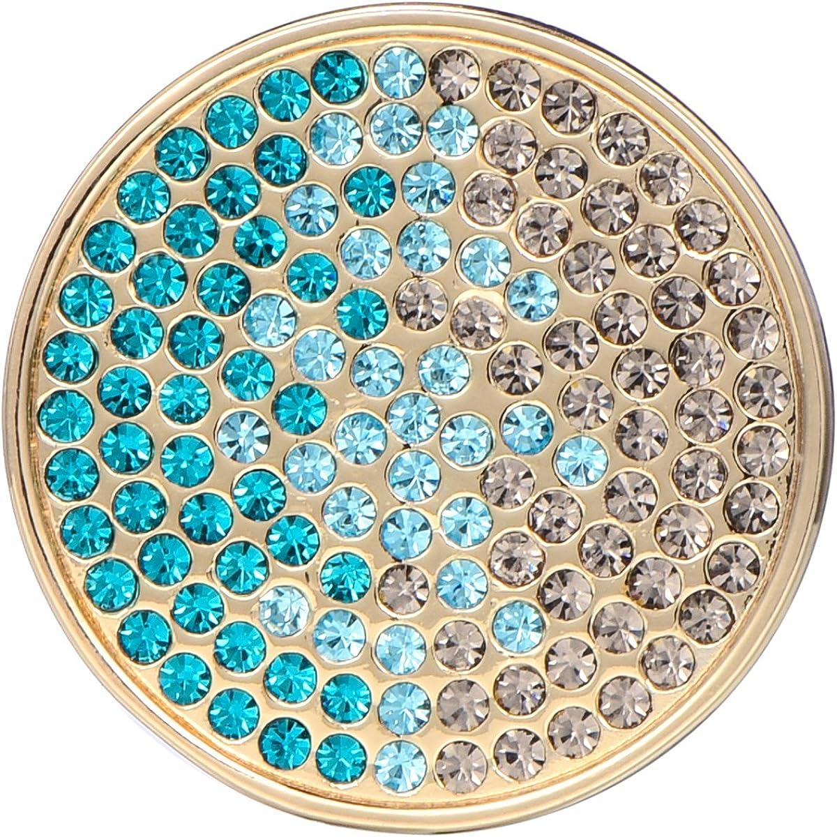 Morella Bijoux pour Dames Pi/èce de Monnaie 33 mm