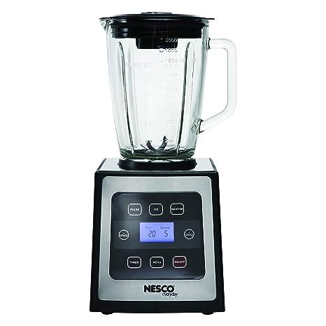 Amazon.com: Nesco bl-90 Digital Control Licuadora con ...