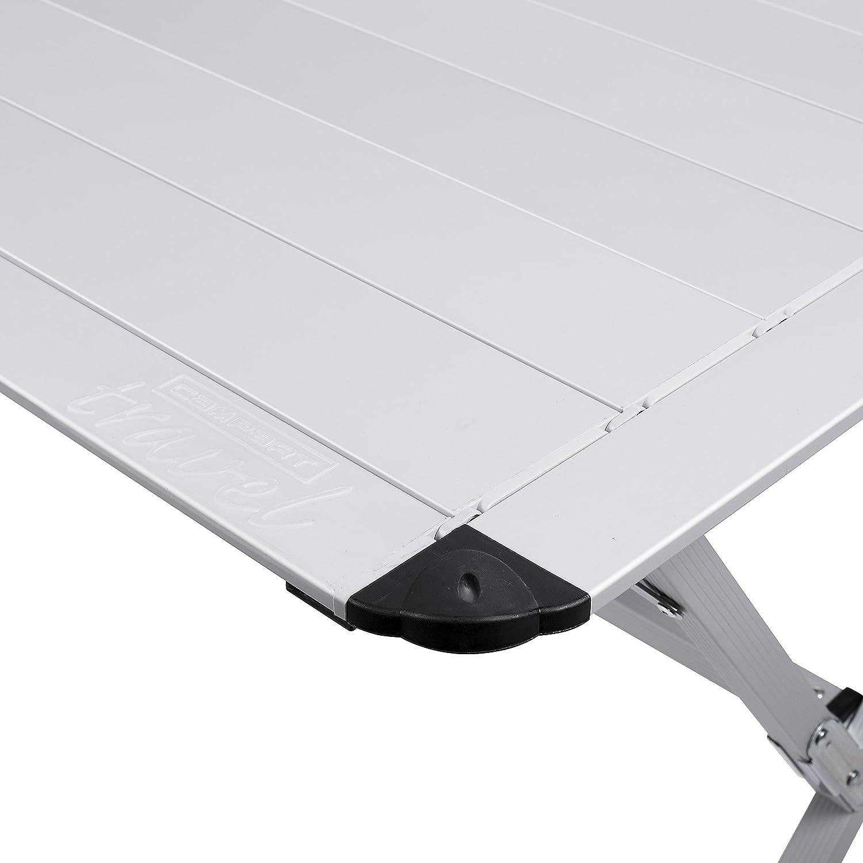 Tavolo Campeggio Alluminio Avvolgibile.Campart Travel Tavolo Da Campeggio Ta 0806 140 X 80 Cm Alzata