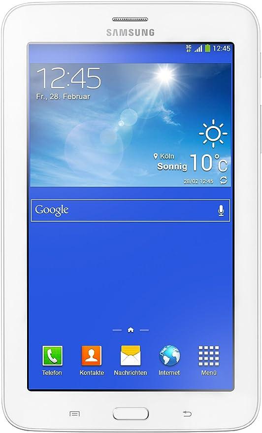 7451d9017ded6d Samsung Galaxy Tab 3 Lite T111, 7 Pollici (17,8 cm) Tablet (Processore Dual  Core 1 ...